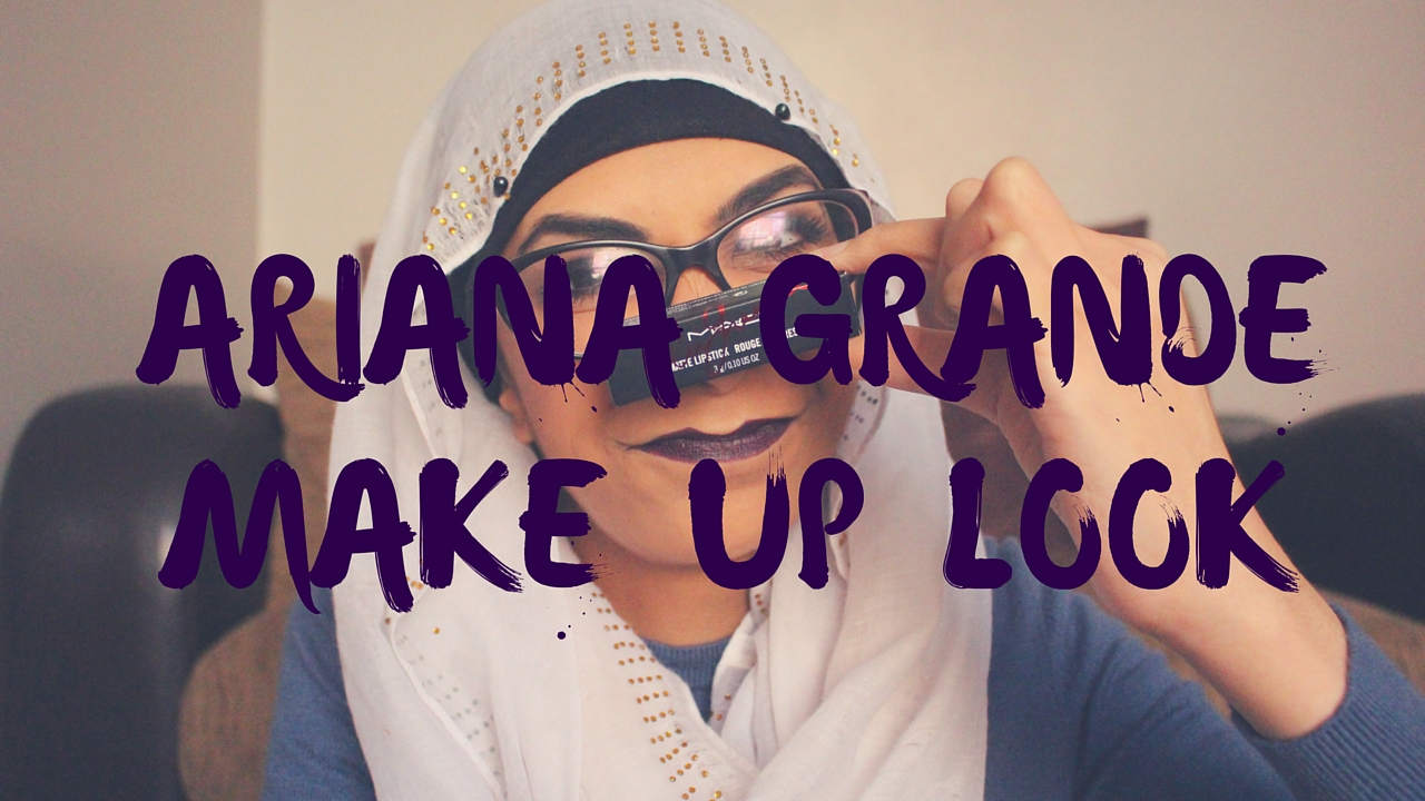 Ariana GrandeMake up look