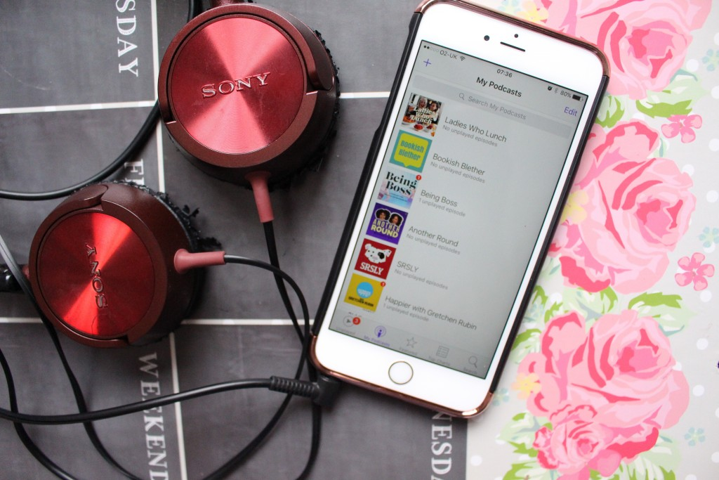 Podcasts to listen too.