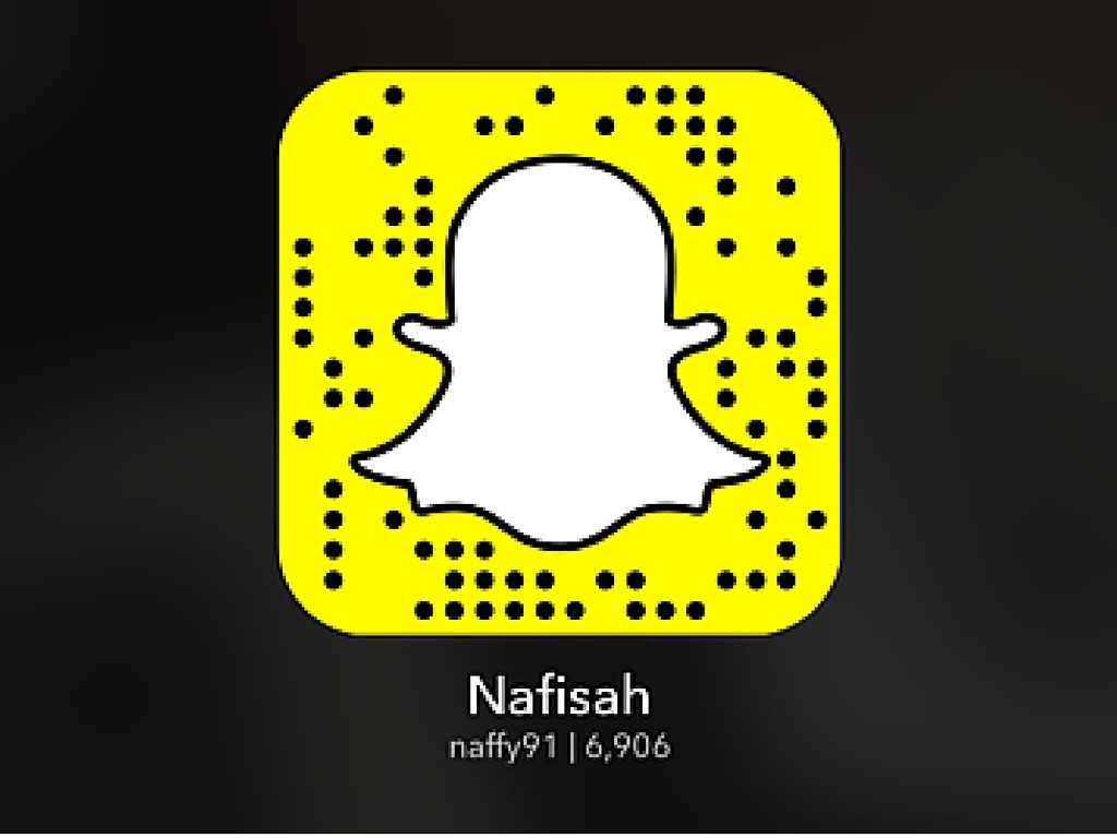 Follow on snapchat