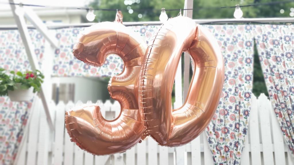 Turning 30